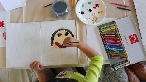 山田浩二 個展 ワークショップ『描いてみよう!父の日に贈る一枚』